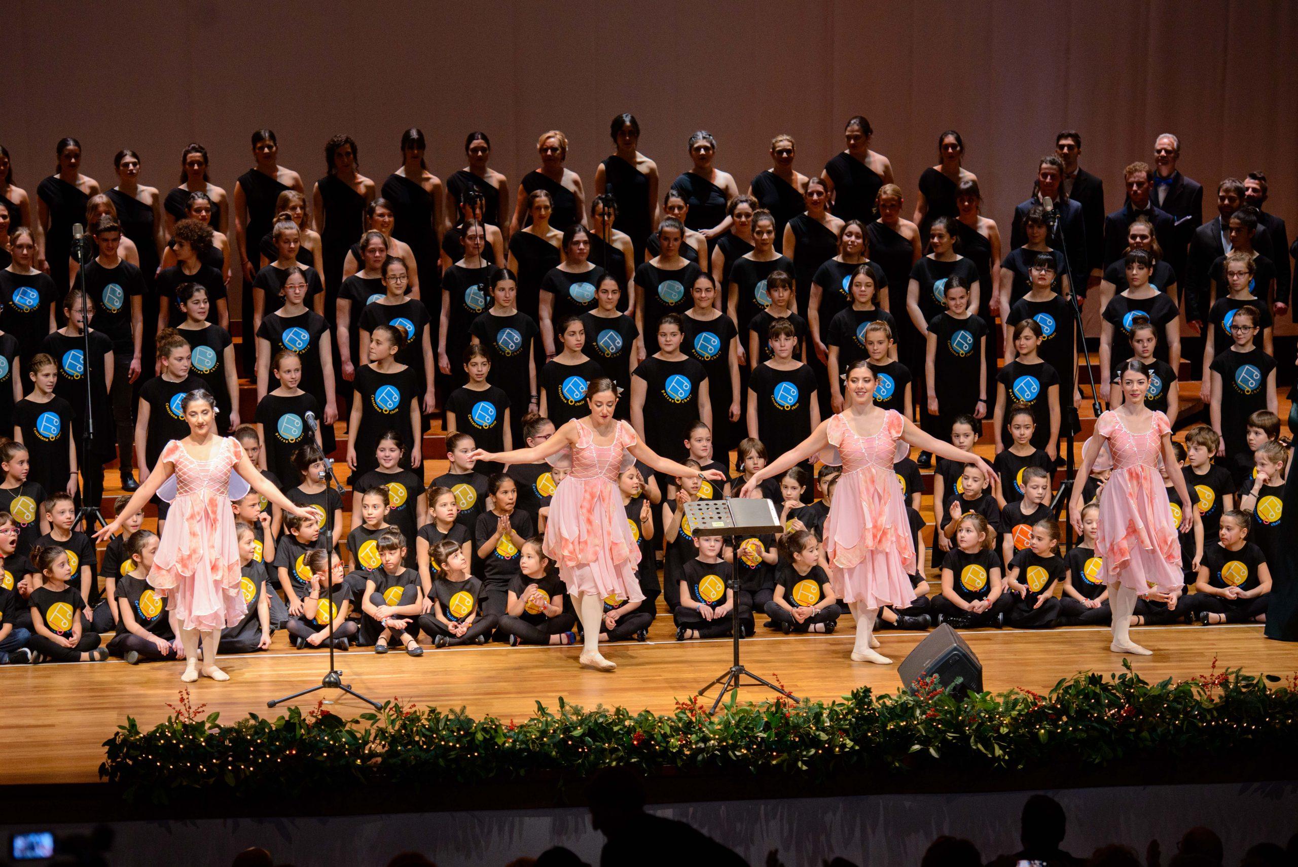 Cantelena χορωδία παράσταση