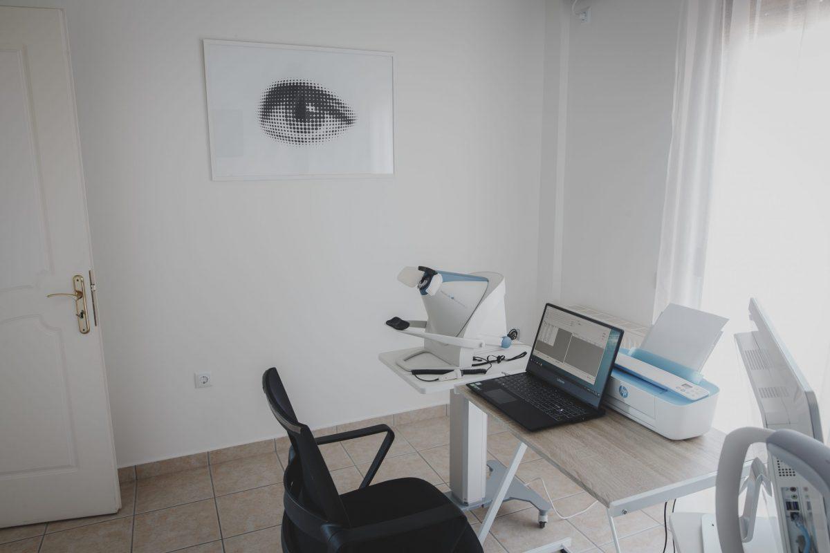 Εξεταστήριο Χειρούργος Οφθαλμίατρος Κων. Καϊάφας